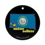 ILY South Dakota Ornament (Round)