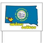 ILY South Dakota Yard Sign