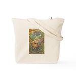 Maya Book of the Dead Tote Bag
