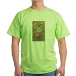 Maya Book of the Dead Green T-Shirt