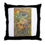 Maya Book of the Dead Throw Pillow