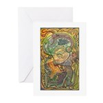 Maya Book of the Dead Greeting Cards (Pk of 10)