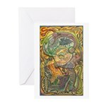 Maya Book of the Dead Greeting Cards (Pk of 20)