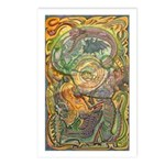 Maya Book of the Dead Postcards (Package of 8)