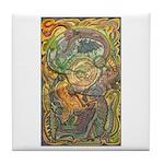 Maya Book of the Dead Tile Coaster