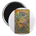 Maya Book of the Dead Magnet
