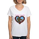 kuuma love 4 Women's V-Neck T-Shirt