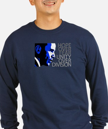 Obama - Hope Over Fear - Blue T