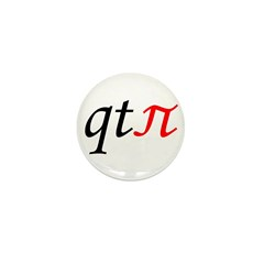 qt pi Mini Button (100 pack)