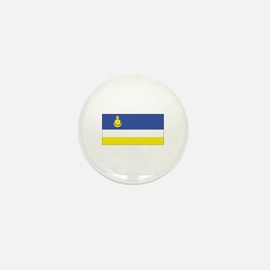 Buryatia Flag Mini Button