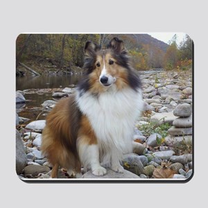 Sable Sheltie Hiker Mousepad
