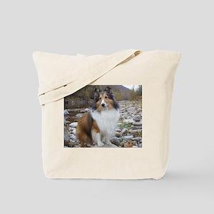 Sable Sheltie Hiker Tote Bag