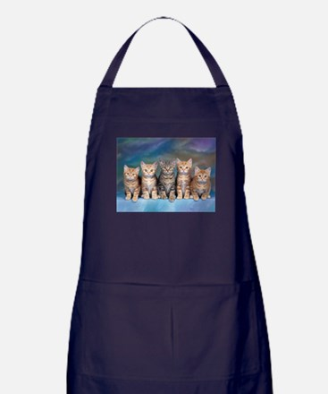 Unique Ocicat cat Apron (dark)
