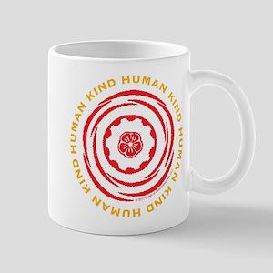 Human Kind Red Mug
