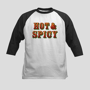 Hot & Spicy Kids Baseball Jersey
