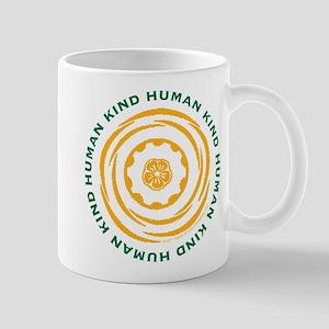 Human Kind Yellow Mug