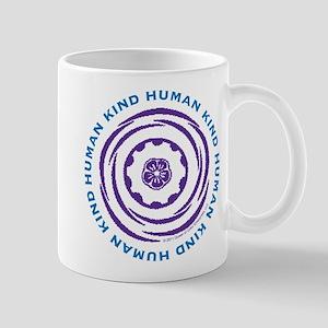Human Kind Indigo Mug