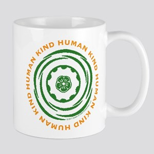 Human Kind Green Mug