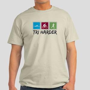 Tri Harder (Thiathlon) Light T-Shirt