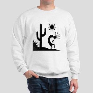 Silhouette Kokopelli Sweatshirt