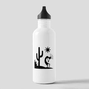 Silhouette Kokopelli Stainless Water Bottle 1.0L