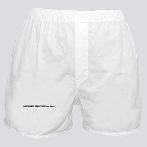 Northwest Territories or Bust Boxer Shorts