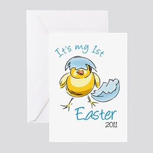 It's My First Easter '11 Greeting Cards (Pk of 10)