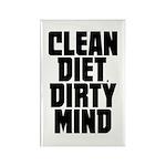 Clean Diet..... Rectangle Magnet
