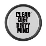 Clean Diet..... Large Wall Clock