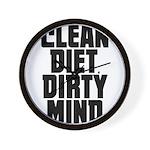 Clean Diet..... Wall Clock