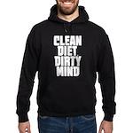 Clean Diet..... Hoodie (dark)