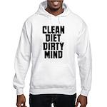 Clean Diet..... Hooded Sweatshirt