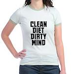 Clean Diet..... Jr. Ringer T-Shirt