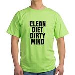 Clean Diet..... Green T-Shirt