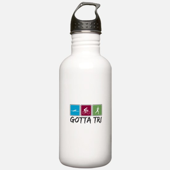 Gotta Tri (Triathlon) Water Bottle