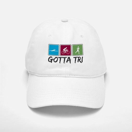 Gotta Tri (Triathlon) Baseball Baseball Cap
