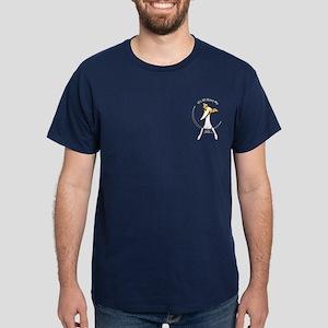 Italian Greyhound IAAM Pocket Dark T-Shirt