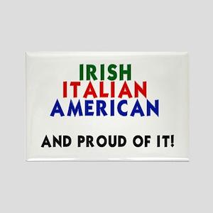 Irish-Italian-American...and Rectangle Magnet