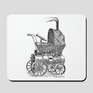 Steampunk baby Mousepad