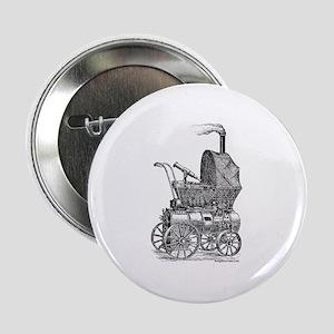 """Steampunk baby 2.25"""" Button"""