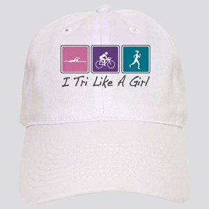 Tri Like A Girl (Triathlete) Cap