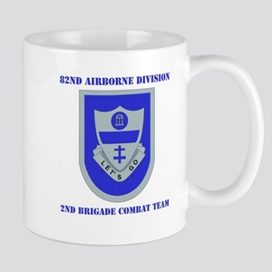 DUI - 2nd BCT with Text Mug