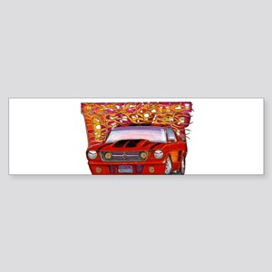 1965 Ford Mustang Sticker (Bumper)