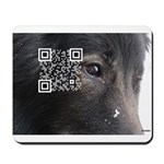 Mousepad, QR to Belgian Cancer Study