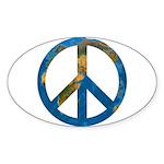 World Peace Sticker (Oval)