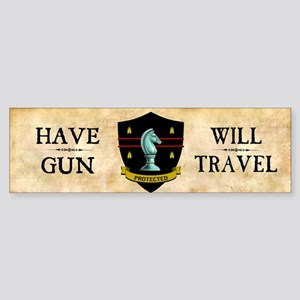 Have Gun Sticker (Bumper)