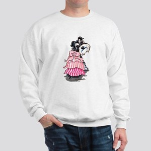 Girly Schnauzer Sweatshirt