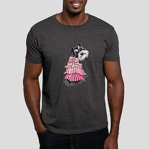 Girly Schnauzer Dark T-Shirt