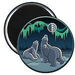 """Polar Bear 2.25"""" Magnet (10 pack)"""