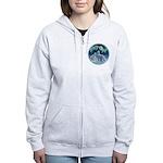 Polar Bear Women's Zip Hoodie